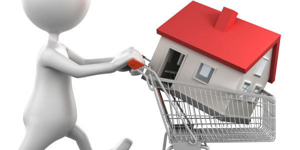 buying a home in basket